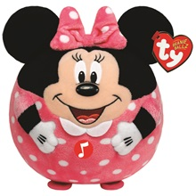 Plüss figura MICKEY ÉS MINNIE, 25 cm - Minnie hanggal