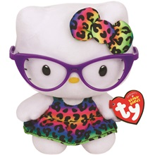 Beanie Babies plüss figura HELLO KITTY, 15 cm - New Fashionista