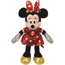 Plüss figura MICKEY ÉS MINNIE, 20 cm - Minnie hanggal
