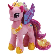 Plüss figura MY LITTLE PONY, 18cm - Princess Cadence
