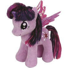 Plüss figura MY LITTLE PONY Lic, 18 cm - Twilight Sparkle
