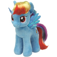 Plüss figura MY LITTLE PONY Lic, 18 cm - Rainbow Dash (1)