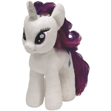 Plüss figura MY LITTLE PONY Lic, 18 cm - Rarity