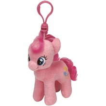 Plüss figura MY LITTLE PONY Lic, Clip 11 cm - Pinkie Pie
