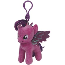 Plüss figura MY LITTLE PONY Lic, Clip 11 cm - Twilight Sparkle