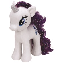 Plüss figura MY LITTLE PONY Lic, 27 cm - Rarity