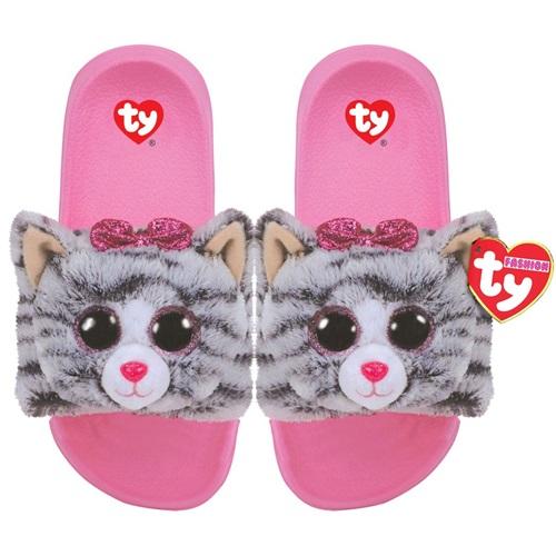 Ty Fashion papucs KIKI - szürke macska e720503ff0